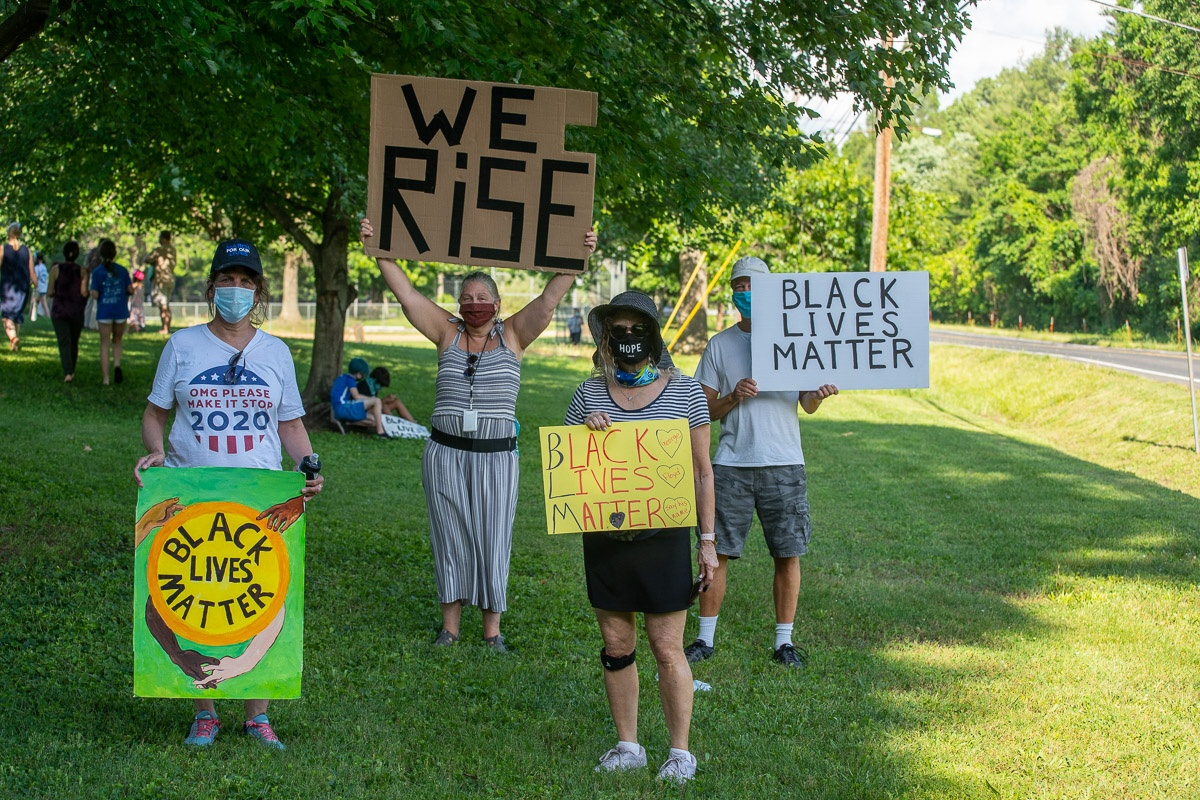 BLM Rally August 2020 - Signs